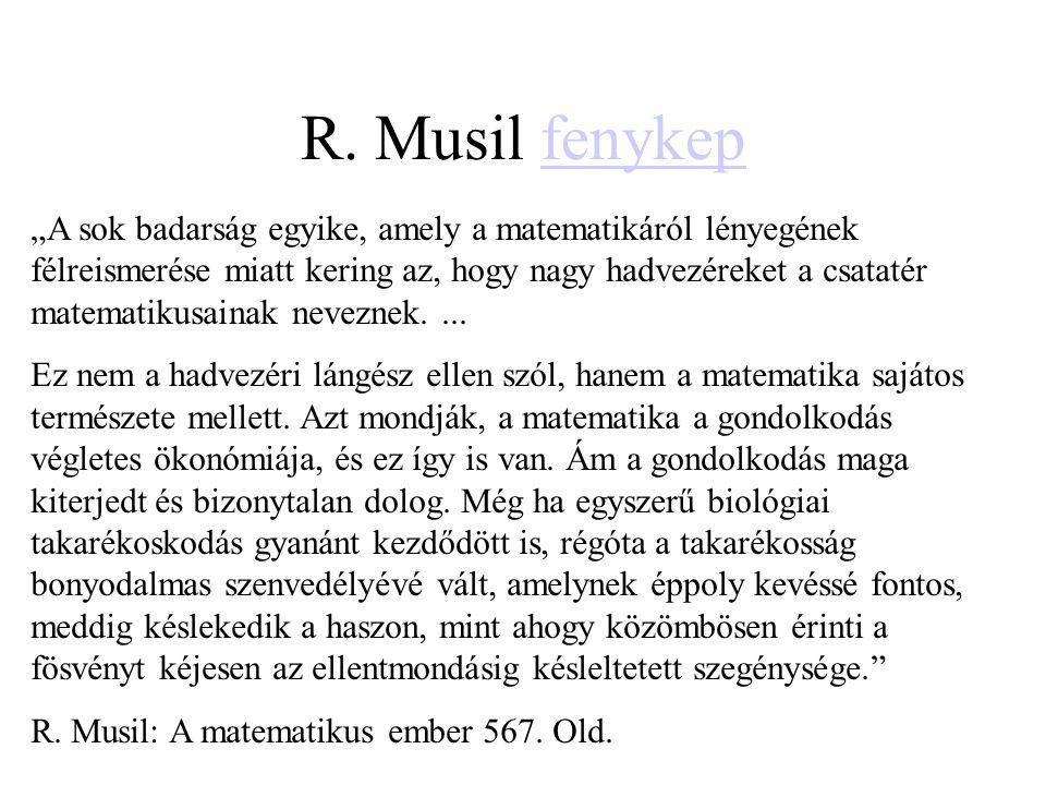 R. Musil fenykep