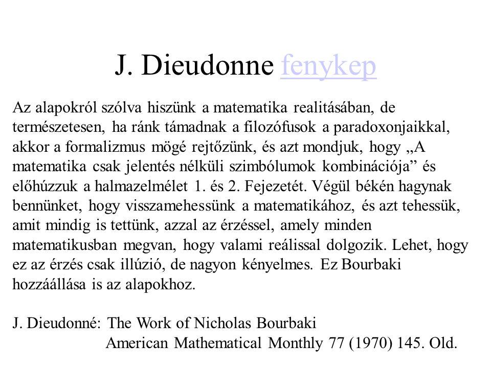 J. Dieudonne fenykep