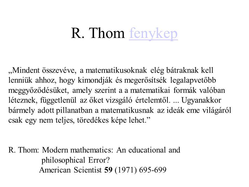 R. Thom fenykep