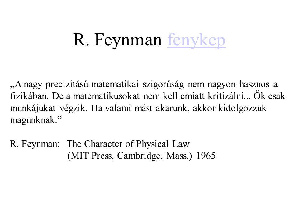 R. Feynman fenykep