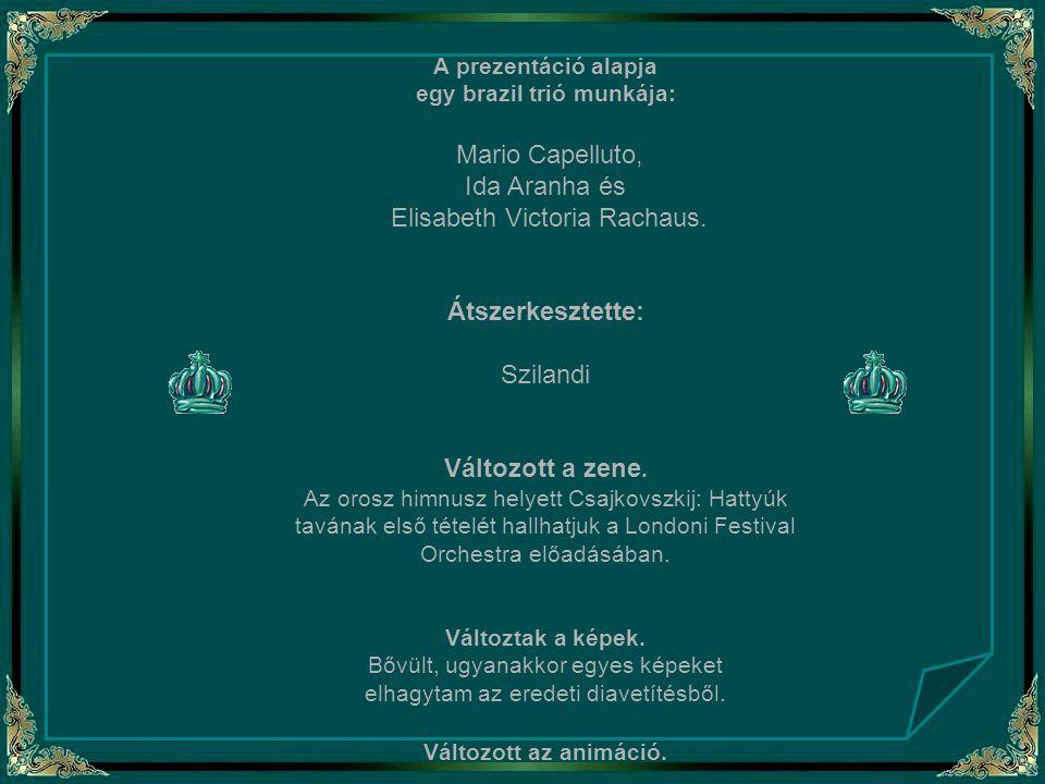 A prezentáció alapja egy brazil trió munkája: