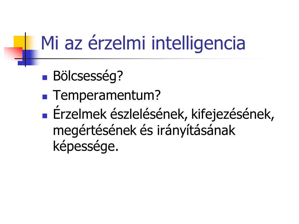 Mi az érzelmi intelligencia