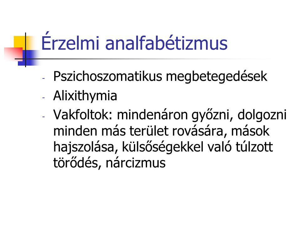 Érzelmi analfabétizmus