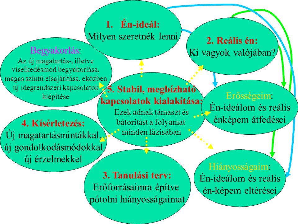 5. Stabil, megbízható kapcsolatok kialakítása: