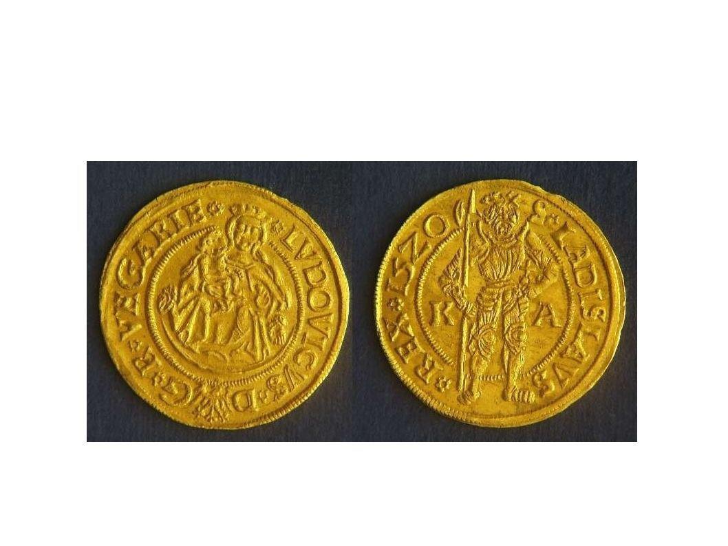 I. Lajos magyar király (1516-1526) érme