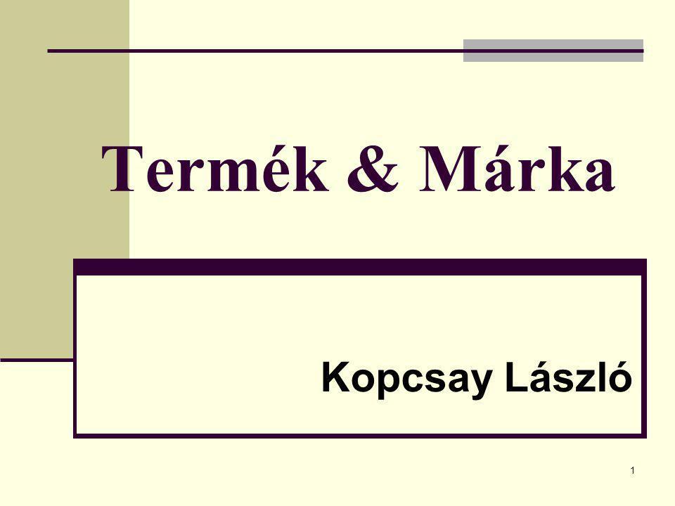 Termék & Márka Kopcsay László