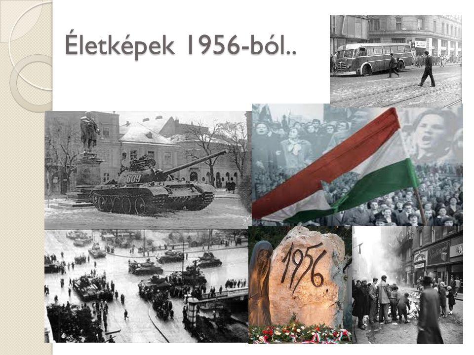 Életképek 1956-ból..