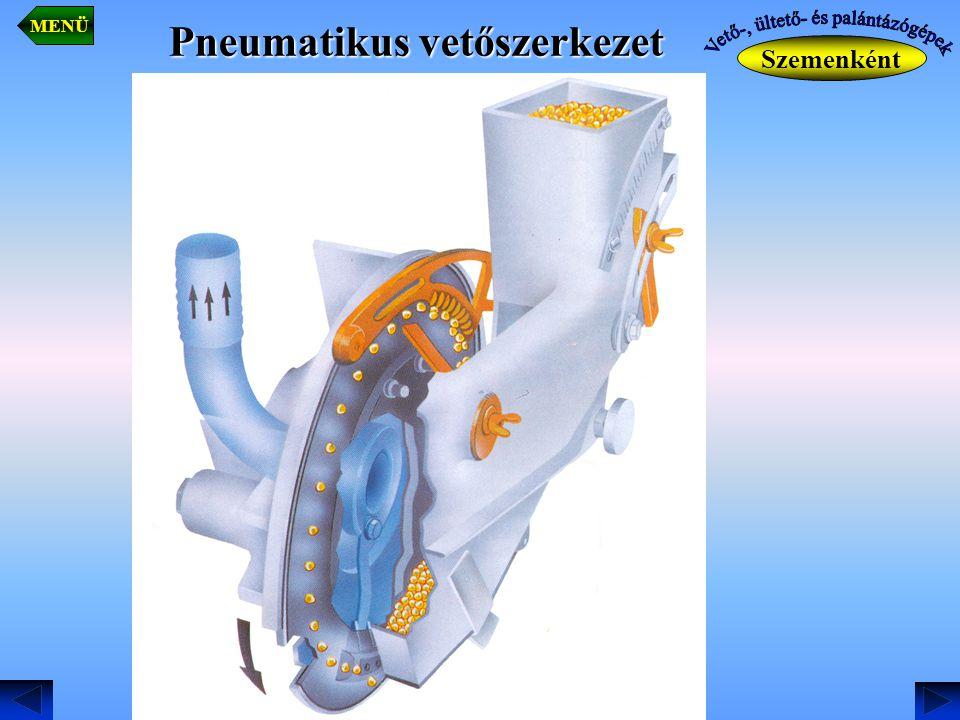 Pneumatikus vetőszerkezet