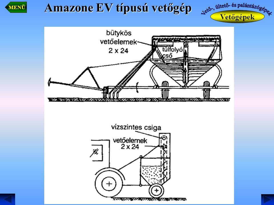 Amazone EV típusú vetőgép