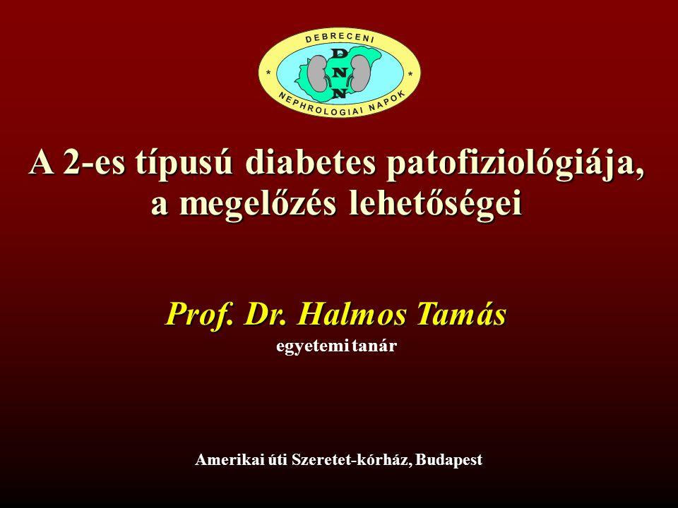A 2-es típusú diabetes patofiziológiája, a megelőzés lehetőségei