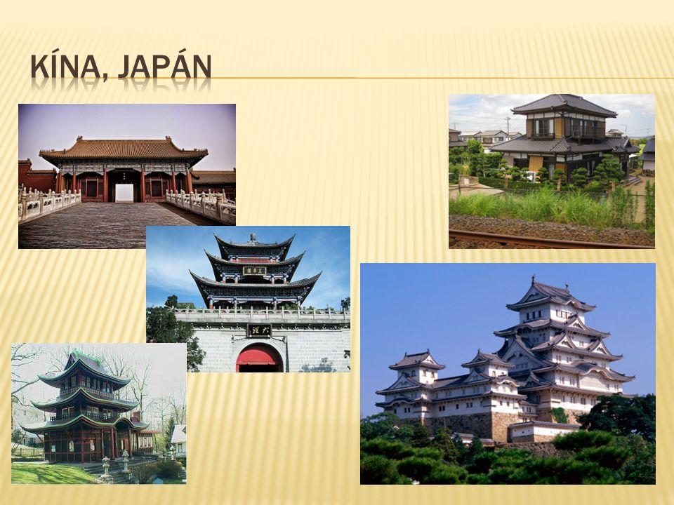 Kína, japán