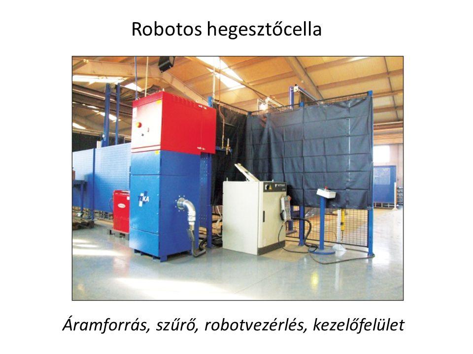 Robotos hegesztőcella