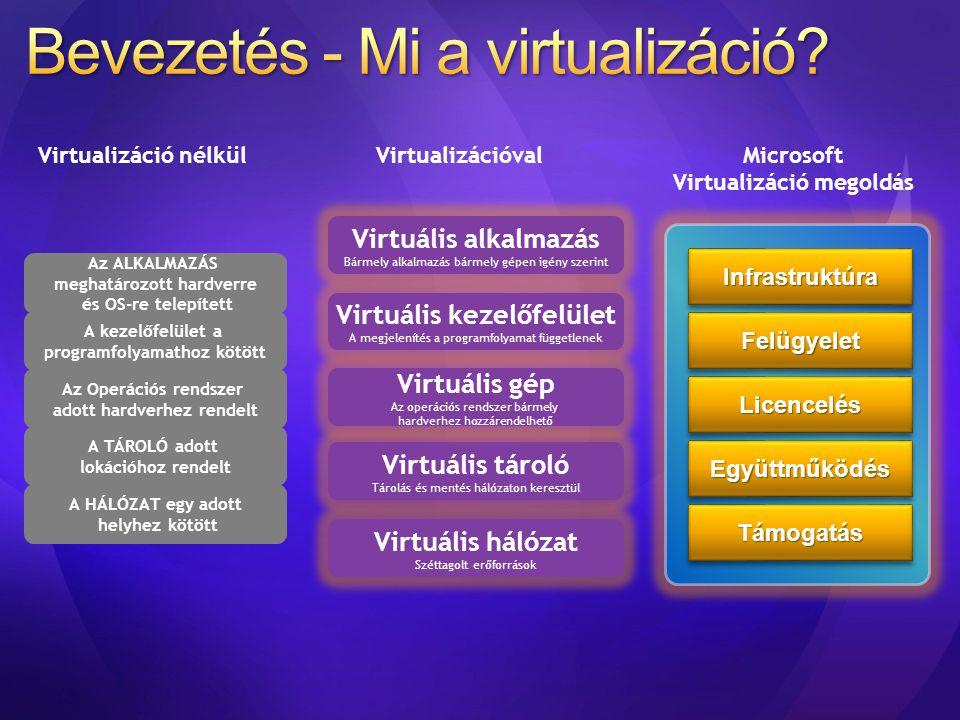Bevezetés - Mi a virtualizáció