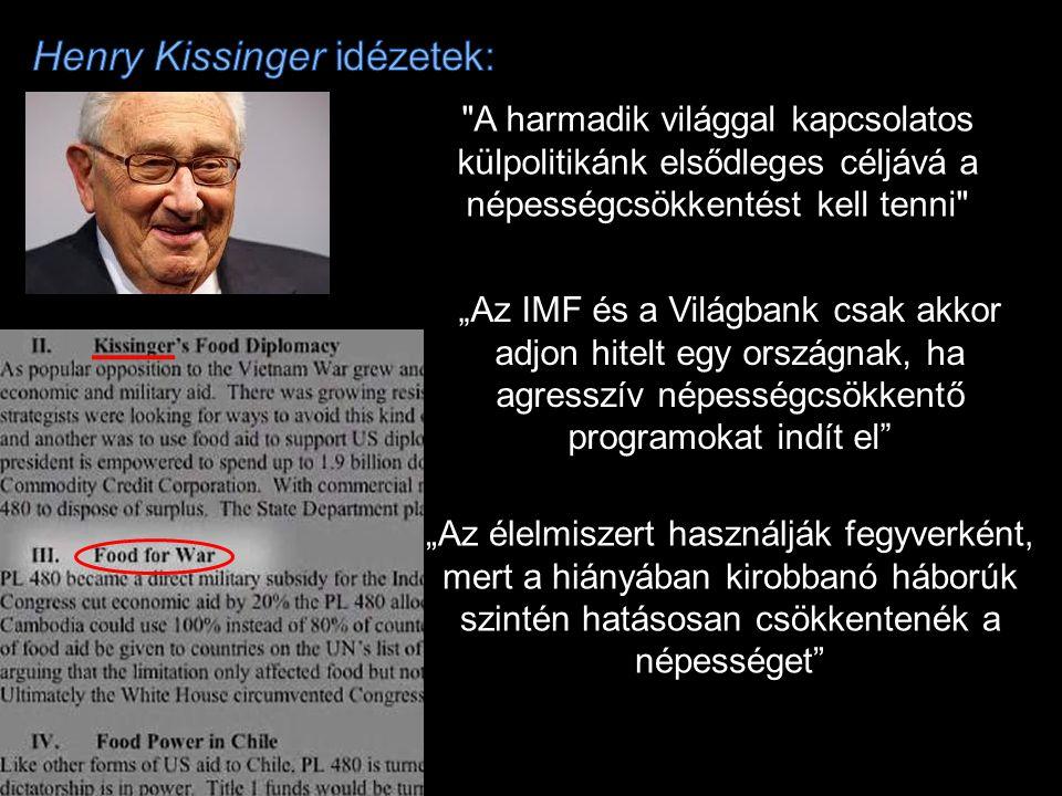 Henry Kissinger idézetek:
