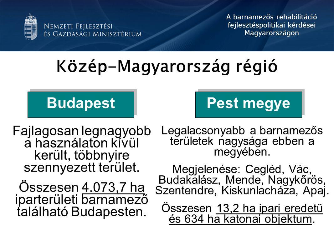 Közép-Magyarország régió