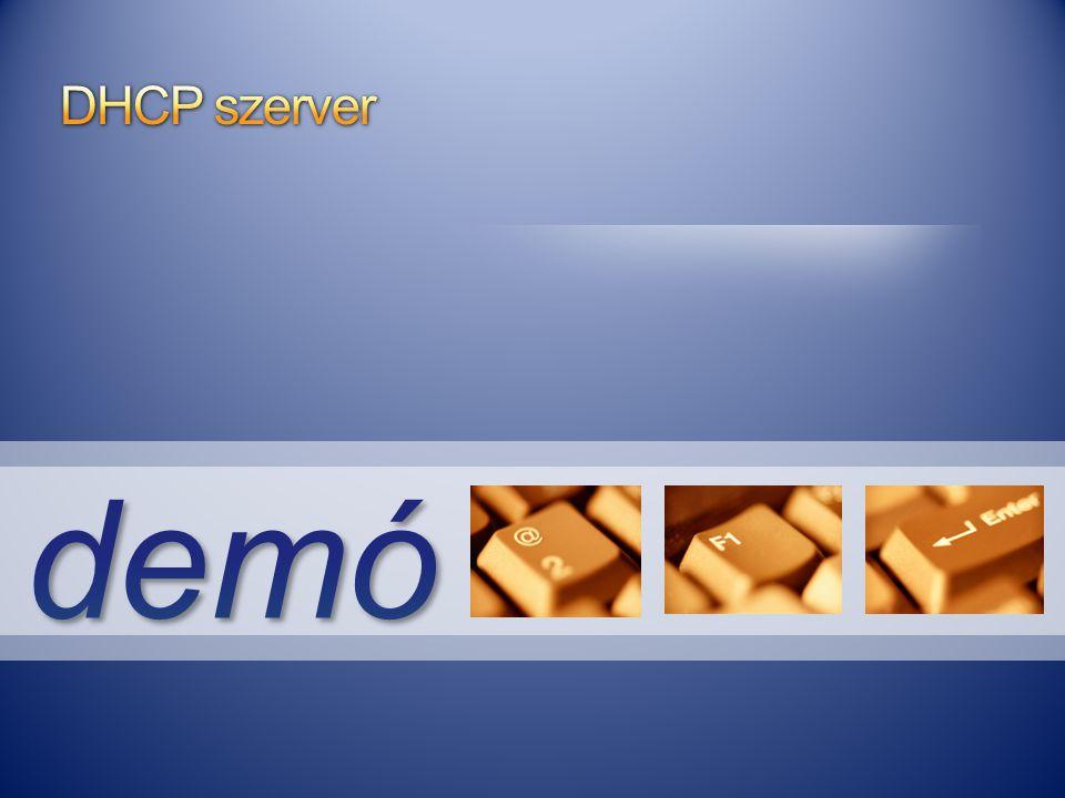 DHCP szerver