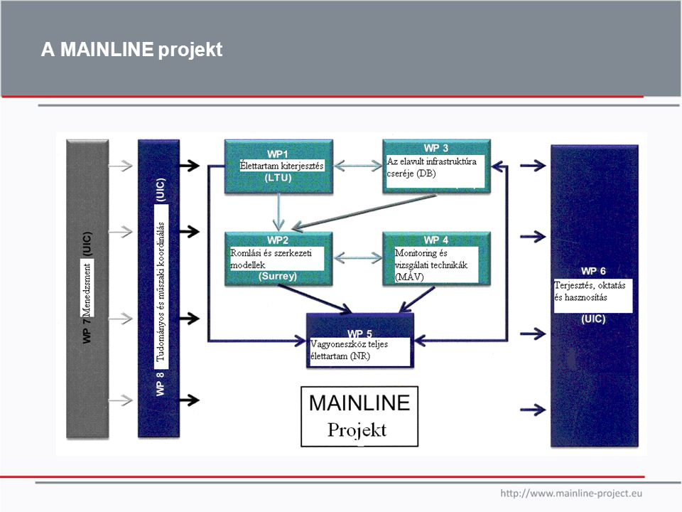 A MAINLINE projekt