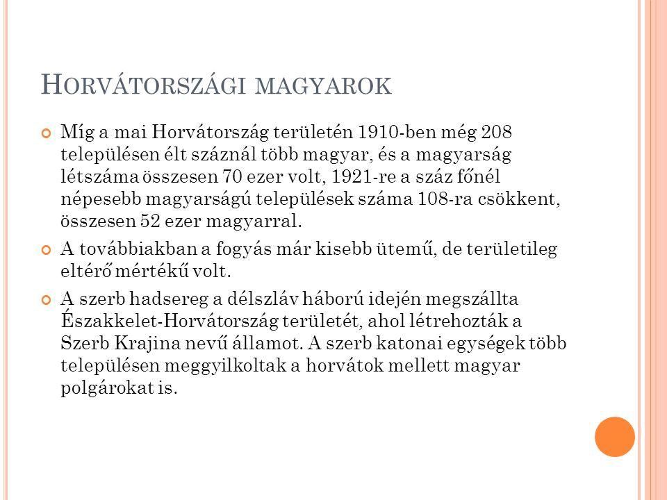 Horvátországi magyarok