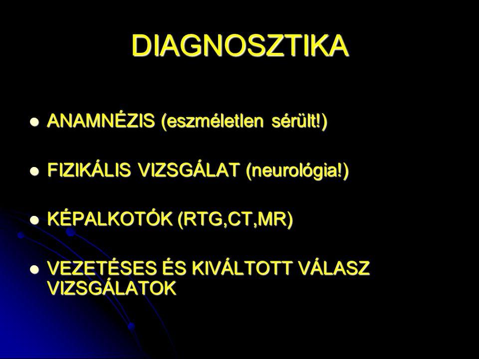 DIAGNOSZTIKA ANAMNÉZIS (eszméletlen sérült!)