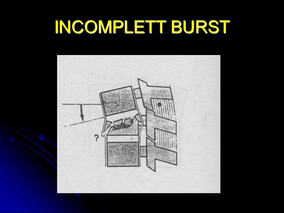 INCOMPLETT BURST
