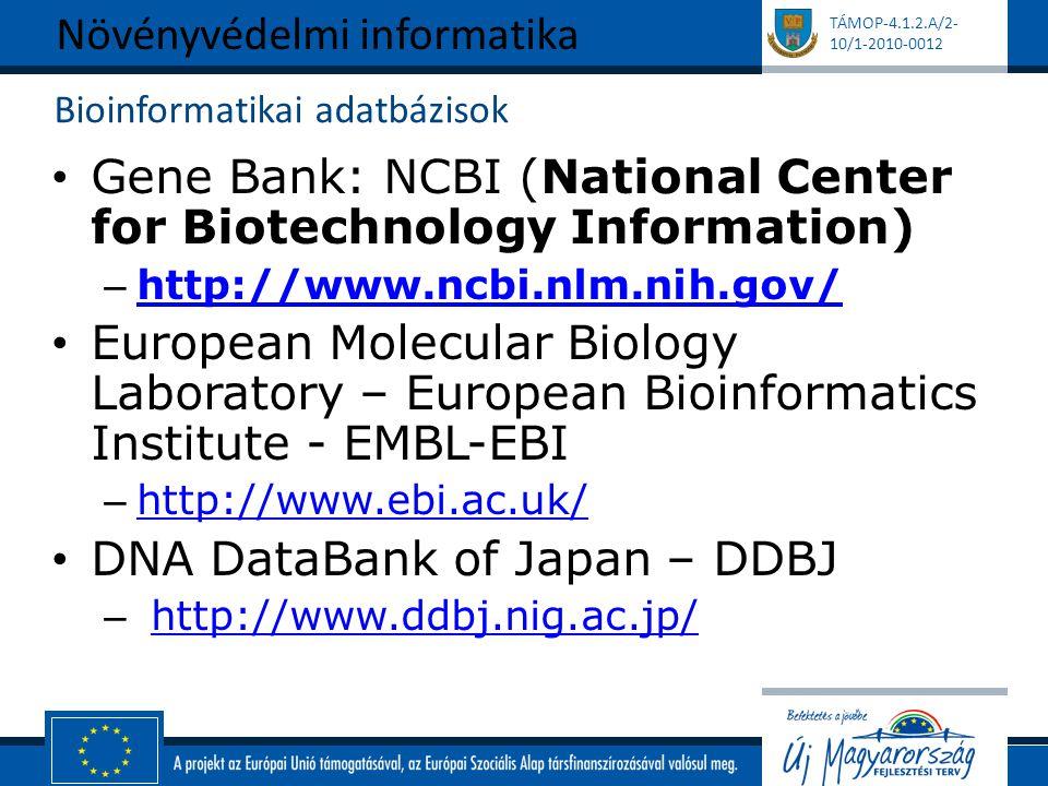 Bioinformatikai adatbázisok