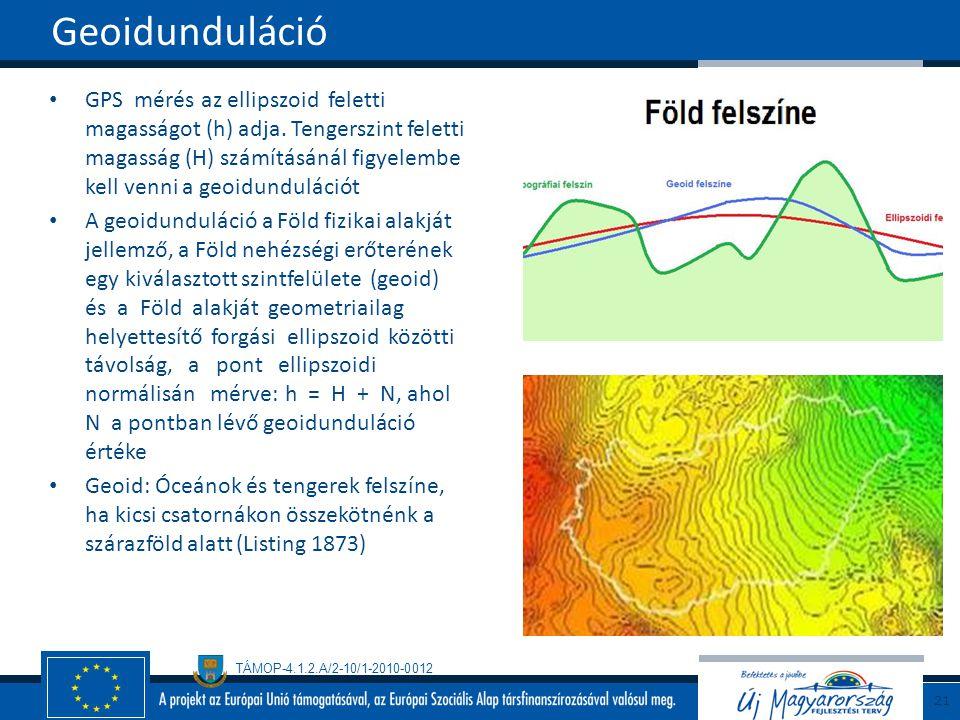 Geoidunduláció