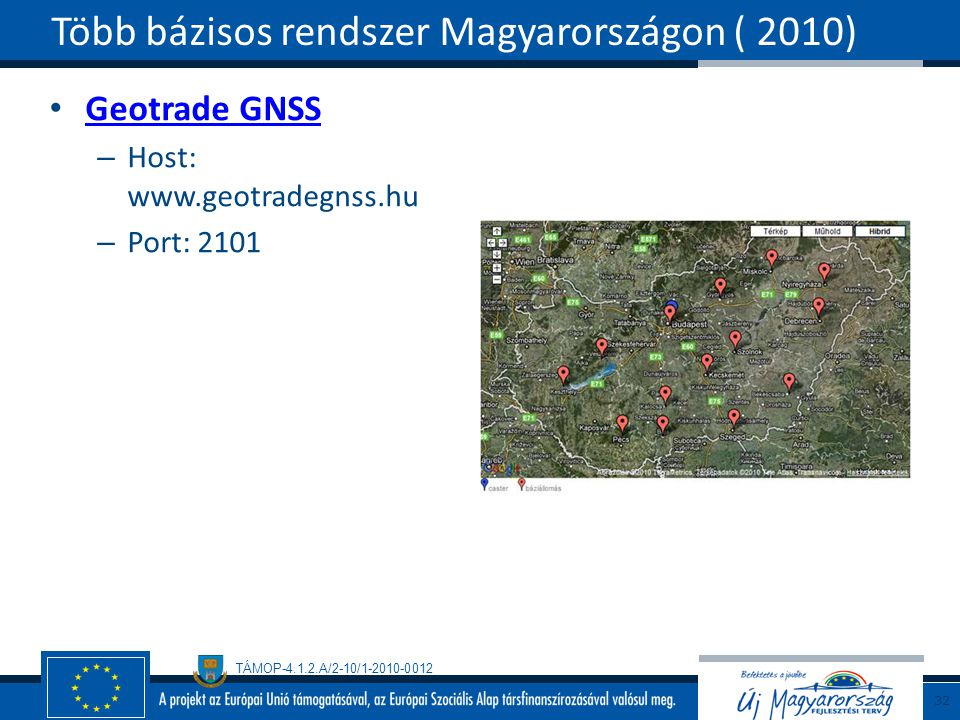 Több bázisos rendszer Magyarországon ( 2010)