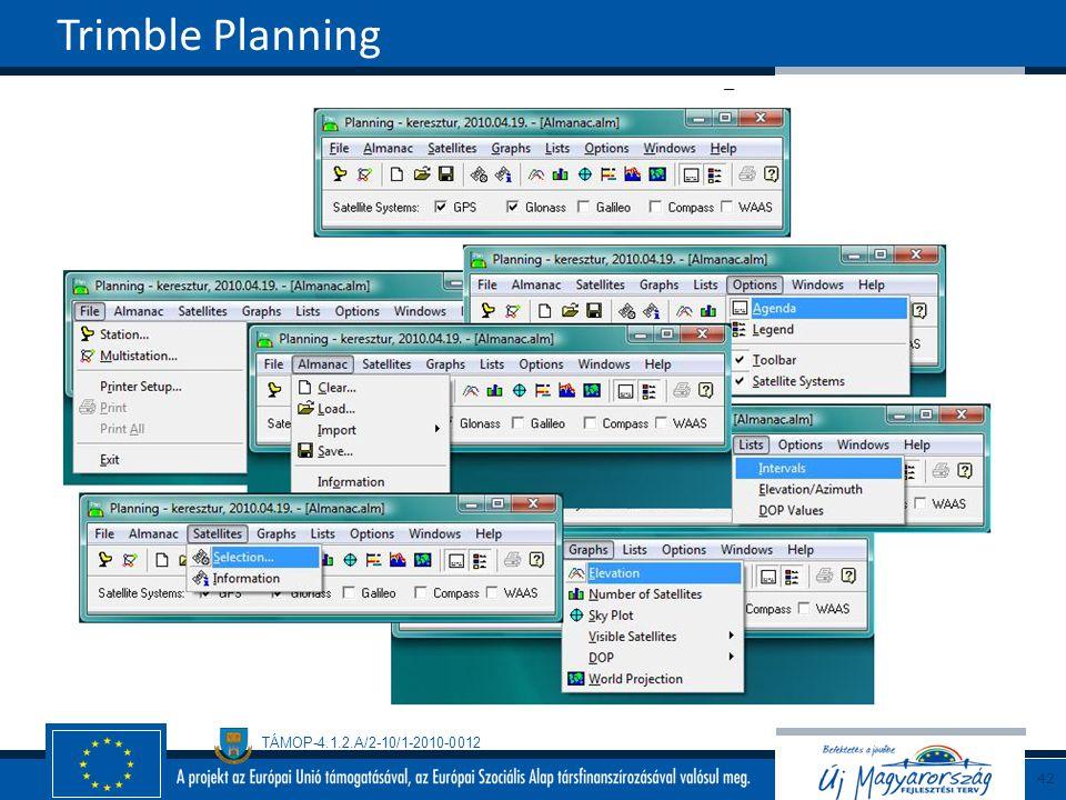 Trimble Planning