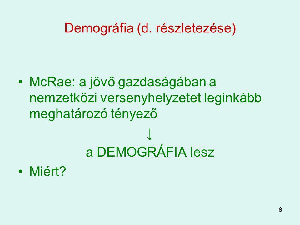 Demográfia (d. részletezése)