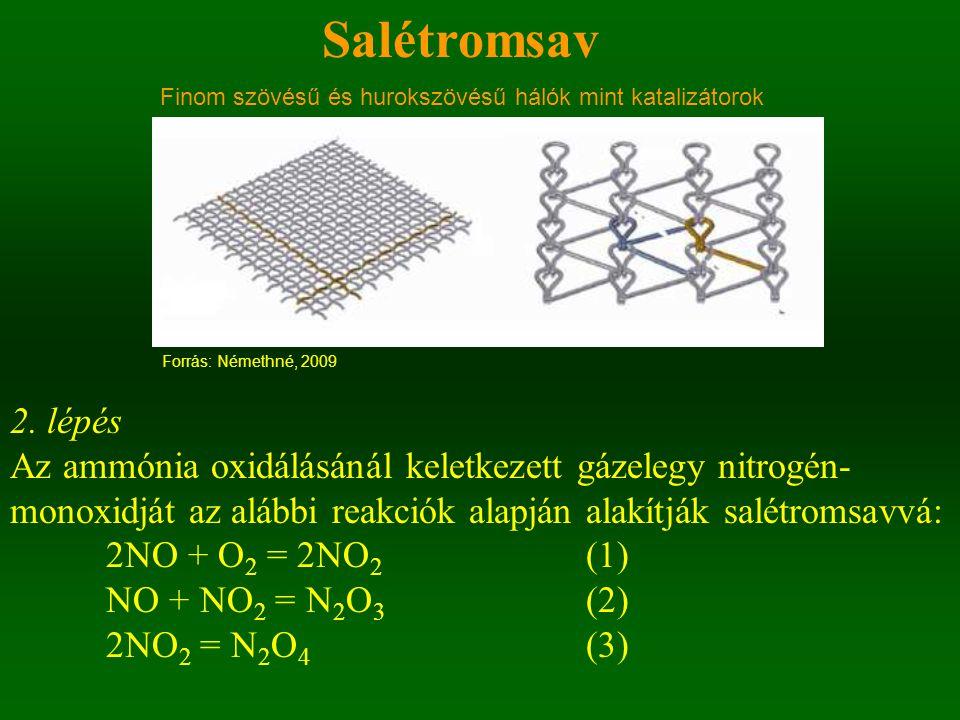 Finom szövésű és hurokszövésű hálók mint katalizátorok