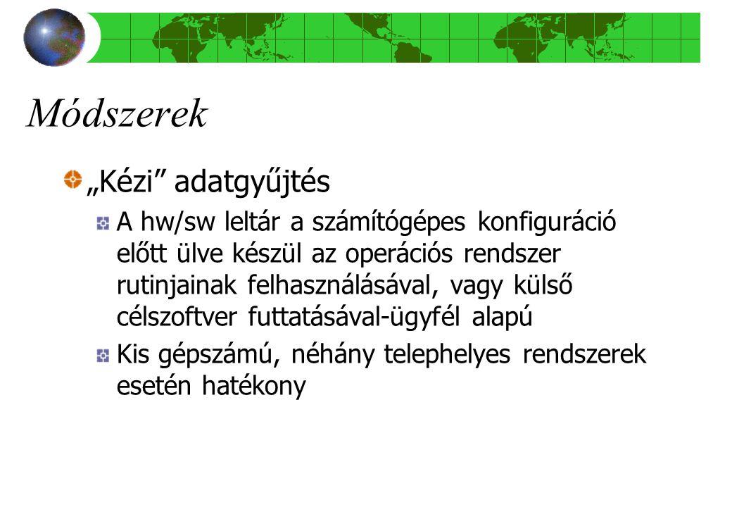 """Módszerek """"Kézi adatgyűjtés"""