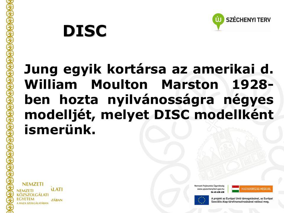 DISC Jung egyik kortársa az amerikai d.