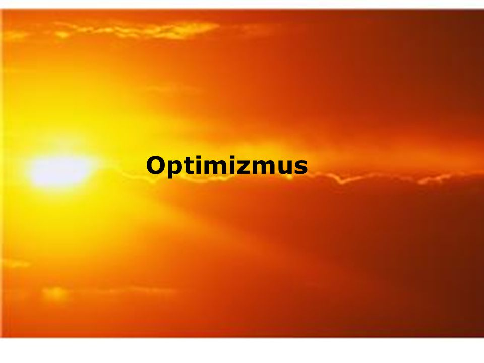 Optimizmus