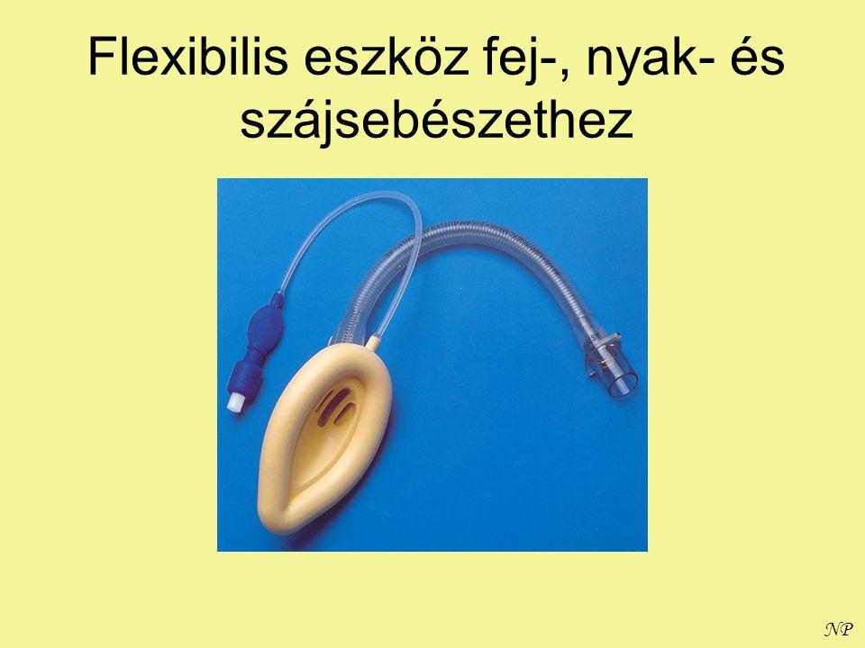 Flexibilis eszköz fej-, nyak- és szájsebészethez