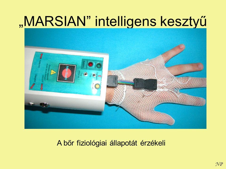 """""""MARSIAN intelligens kesztyű"""