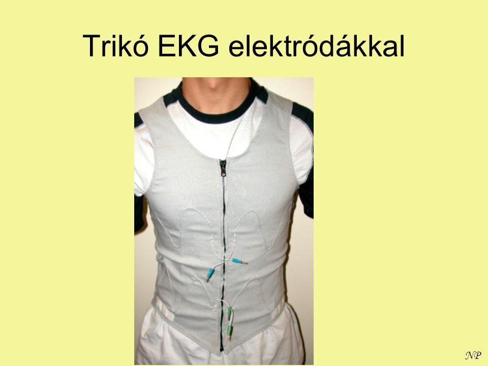 Trikó EKG elektródákkal