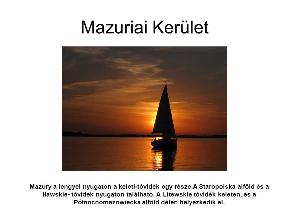 Mazuriai Kerület