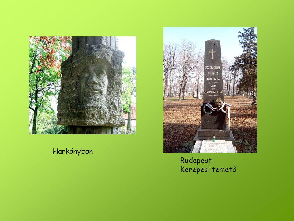 Harkányban Budapest, Kerepesi temető