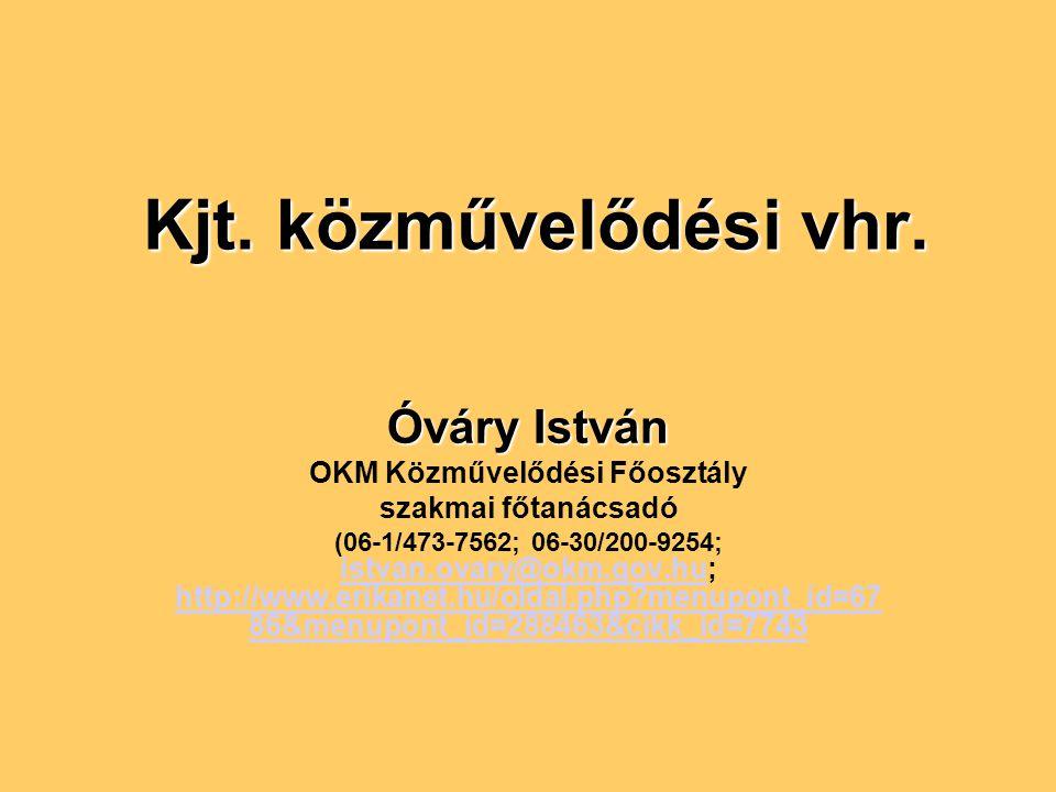 OKM Közművelődési Főosztály