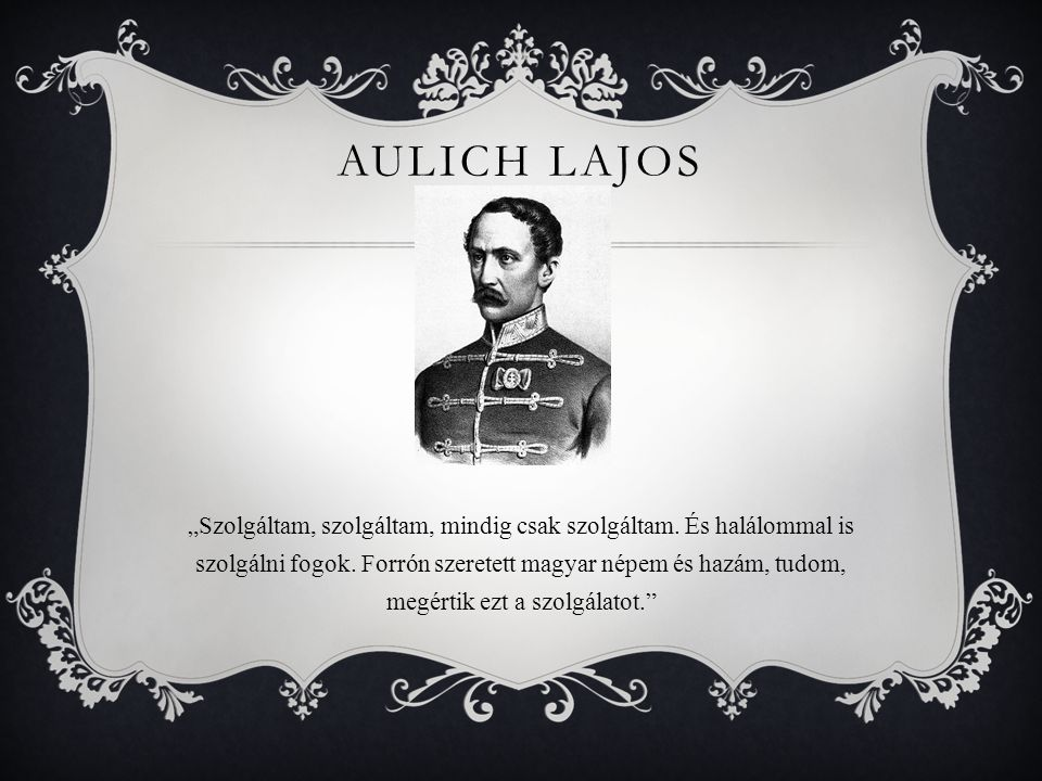 Aulich Lajos