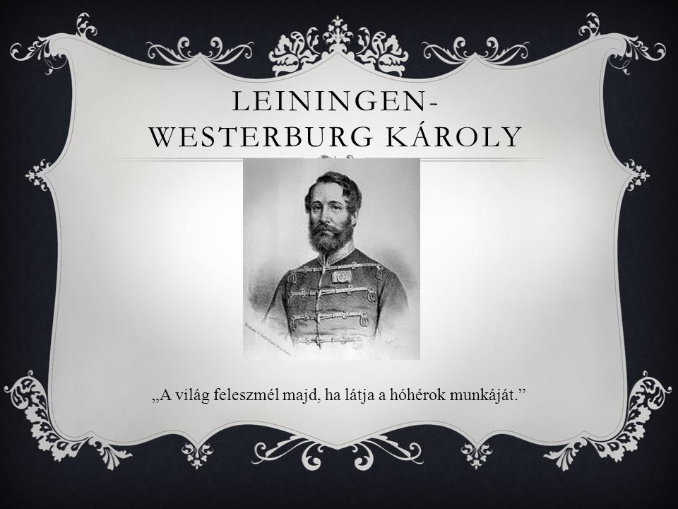 Leiningen-Westerburg Károly