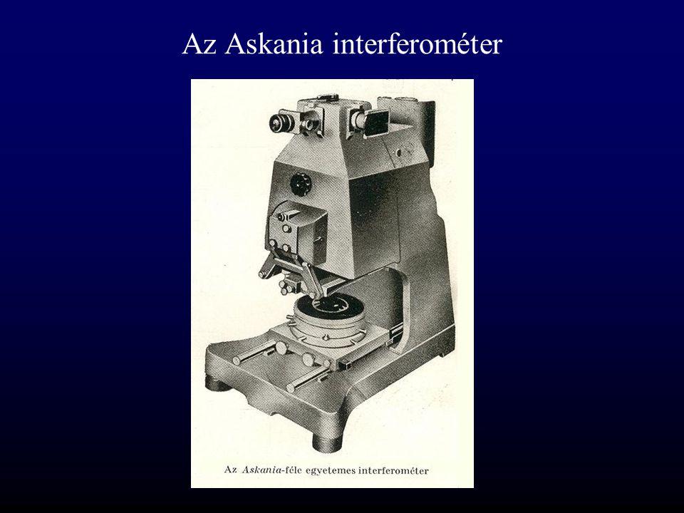 Az Askania interferométer