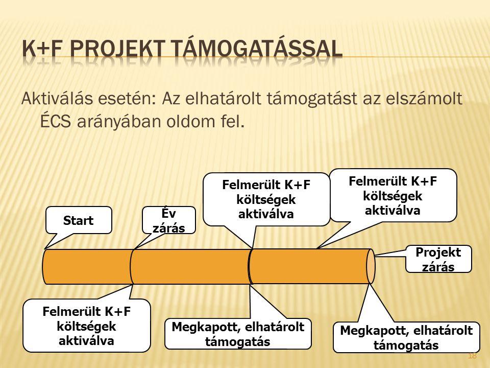 K+F projekt támogatással