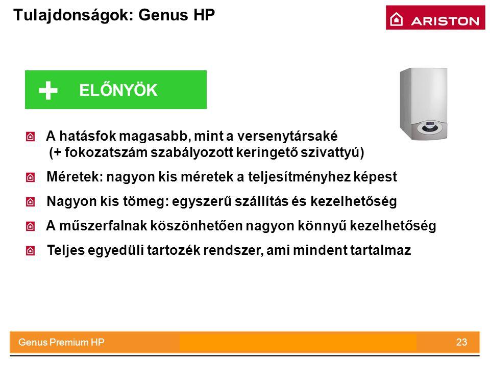 Tulajdonságok: Genus HP