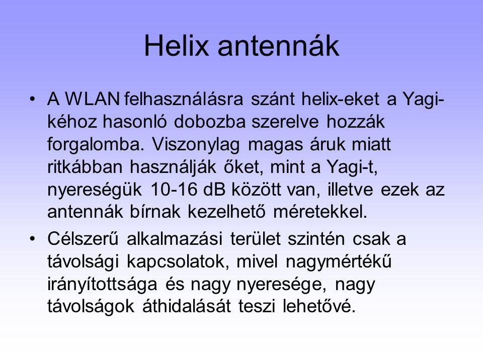 Helix antennák