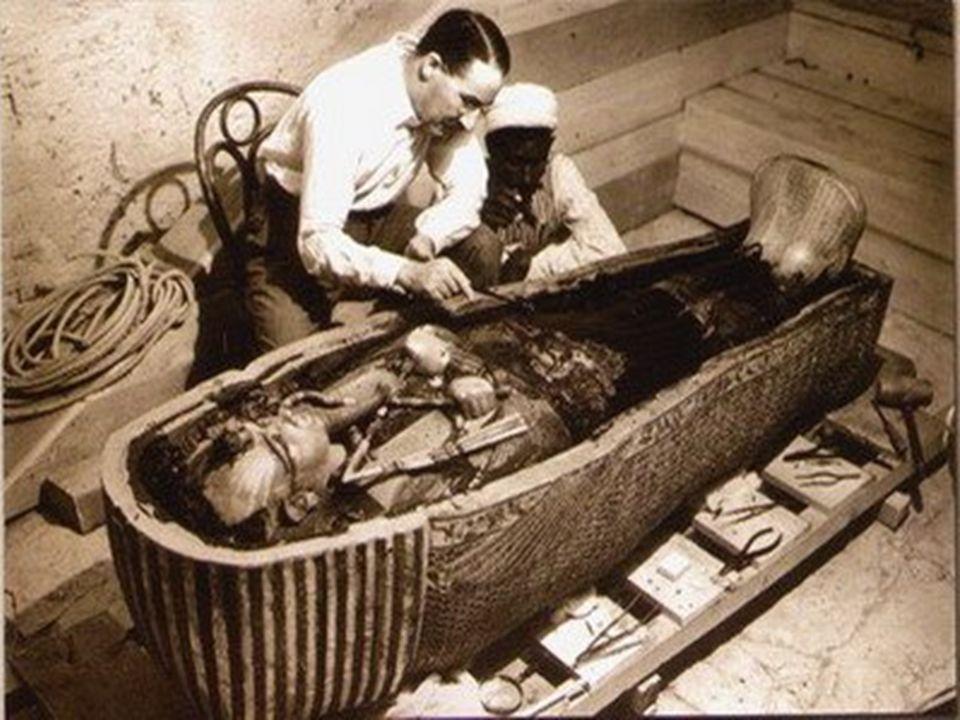 A sírt Howard Carter fedezte fel 1922. november 4-én.
