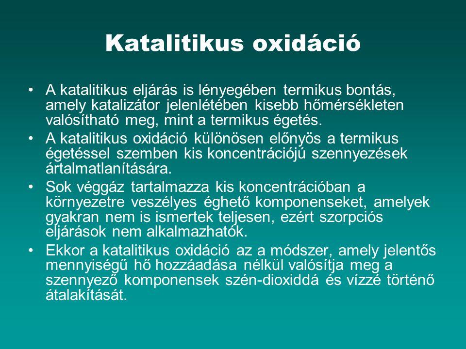 Katalitikus oxidáció