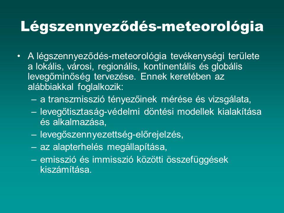 Légszennyeződés-meteorológia