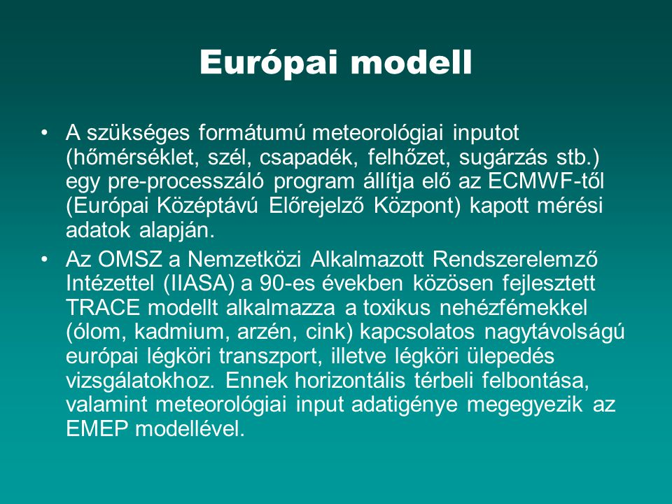 Európai modell
