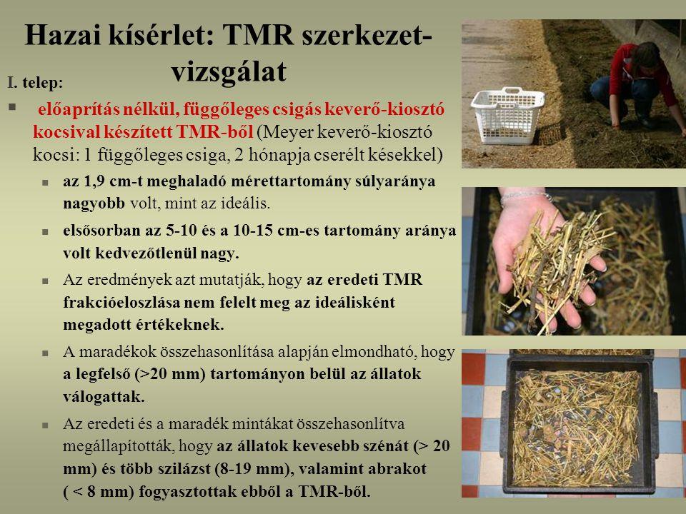 Hazai kísérlet: TMR szerkezet-vizsgálat